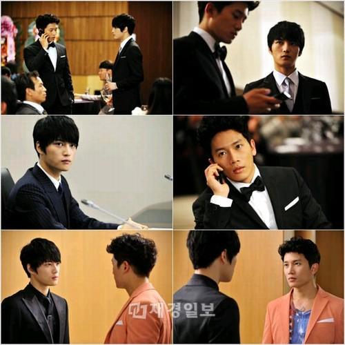 8月3日から放送の韓国ドラマ「ボスを守れ」で、俳優チソンとJYJのメンバーで俳優のキム・ジェジュン演じるカリスマボスに注目が集まっている。写真=エイストーリー