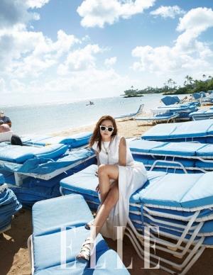 女優コン・ヒョジンの独特なグラビアが公開された。写真=ELLE