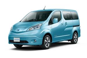 日産自動車の電気自動車(EV)として初の商用車「e-NV200」(写真提供:日産自動車)