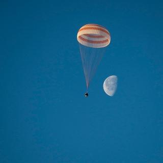 ソユーズTMA-14M宇宙船、地球に帰還