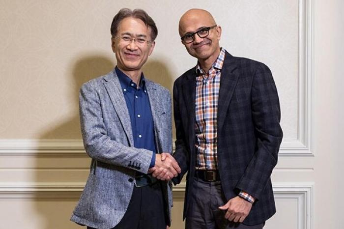 ソニーとマイクロソフト、クラウドゲームやAIソリューション開発で提携