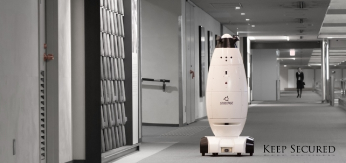Photo of Industrial robot,competition the dawn of the ERA (below)