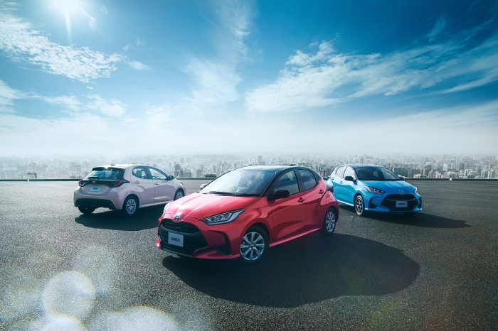 """Photo of The new(true)""""the sheep was covered with the skin of the Wolf""""Toyota・Yaris-GR-re, 3-cylinder, 1.6 L turbo fuel economy 36. 0 km/L (1/3)"""