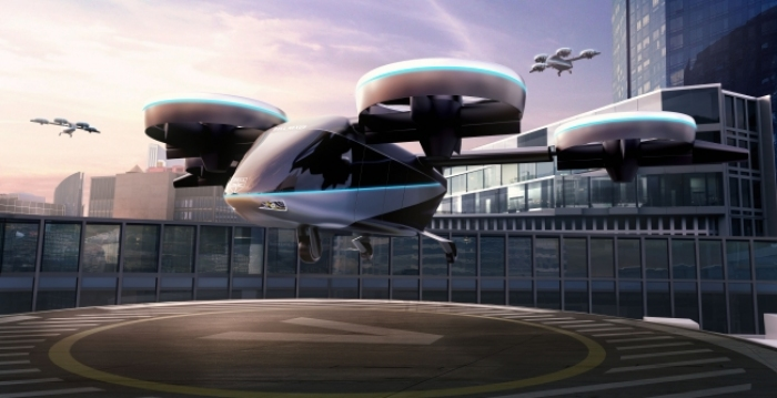 "Photo of ""Flying cars""to the implementation of JAL and Sumitomo Corporation,a US company is business Alliance"