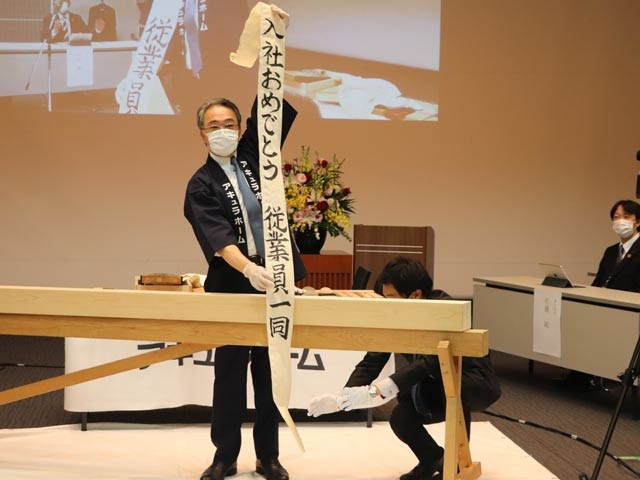 Photo of The new corona, the new recruits, celebrated the opening of the striking new corporate I