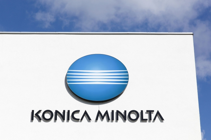 Photo of Konica Minolta, digital value added by the improvement in operating income of ¥ 100.0 billion goal