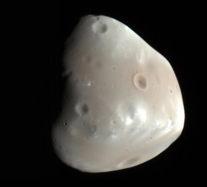 Photo of The Martian satellites, orbit the inclination of the one ring cause from the Rice Research Institute