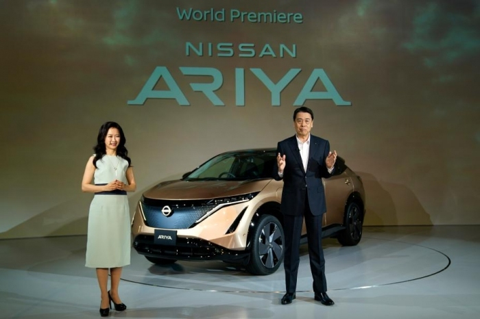 """Photo of Nissan strategies car""""Aria""""is""""strategy of Toyota""""and""""take the example of Nissan""""the difference between you can get rid of it? (2)"""