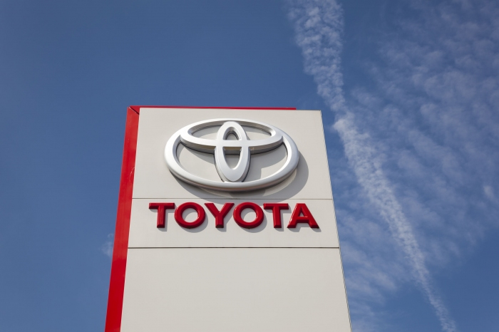 Photo of Toyota in 2020 4-6 month period,sales volume fell by 50%, sales 40%decrease in profits