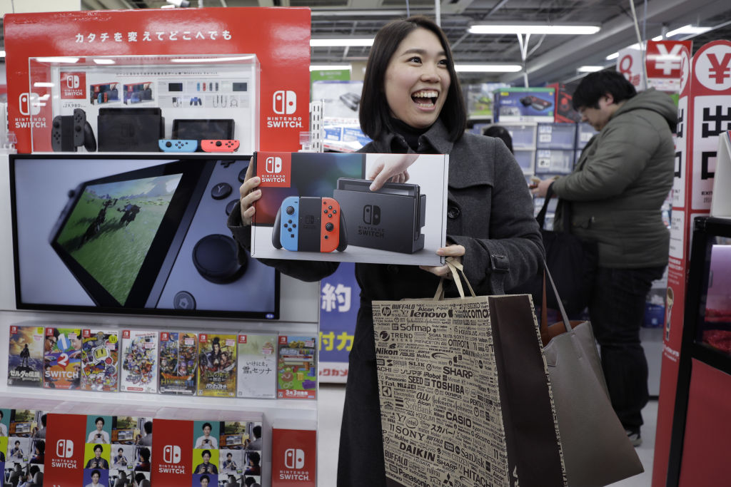 「Nintendo Switch」が発売