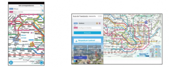 「Tokyo Subway Navigation for Tourists」(左)と「Tokyo Subway Navigation for Tourists Plus」。(画像: 東京メトロの発表資料より)