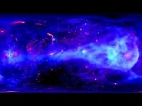 YouTubeより。(c) NASA/CXC/Pontifical Catholic Univ. of Chile /C.Russell et al.