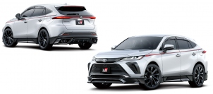 TRD、早くも新型ハリアー用のGRパーツを発売