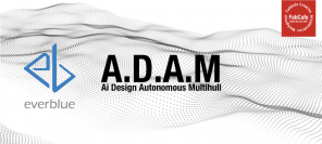 everblue technologies、FabCafeと共同でAIデザインを活用した自動操船ヨットデザインプロジェクト「A.D.A.M」を発足