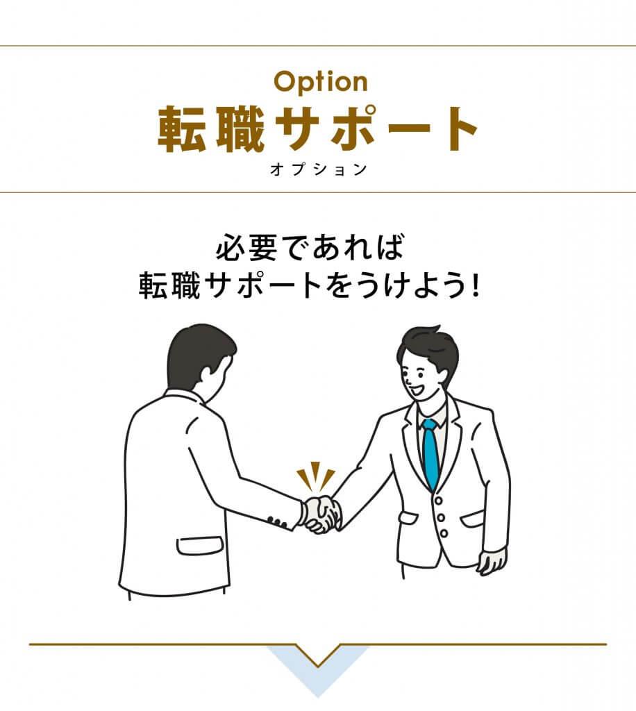 オプション 転職サポート